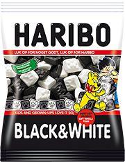HARIBO Black & White