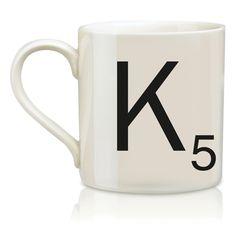 SCRABBLE Mug K