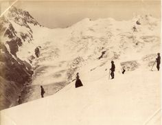 Ladies Alpine Club.   ::     In 1907, Elizabeth Hawkins-Whitshed became the first president of the Ladies Alpine Club. She wrote seven books on mountain climbing and over her lifetime climbed twenty peaks that no one had climbed before. Can you imagine what winter exploration was like in 1907? And in a bonnet and dress?!