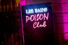 """La soirée Dior """"Poison Girl"""" aux Bains"""