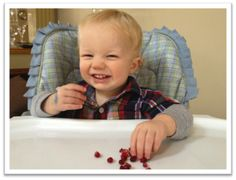 Pomegranate Fun: A Fine Motor Snack for Toddlers