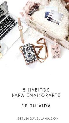 5 ideas de Hábitos para tu vida #rutinas #personales