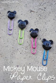 Mickey Mouse Paper Clips at thebensonstreet.com