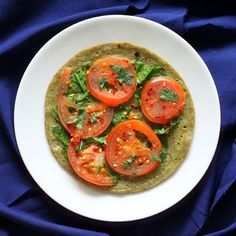 Uttapam - Lentil and Rice Pancake with veggies. #Vegan #Glutenfree #Recipe