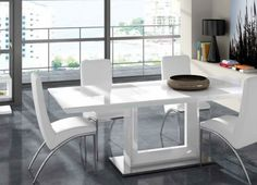Mesas Comedor : Mesa Comedor Moderna DT16 | Madera | Pinterest ...