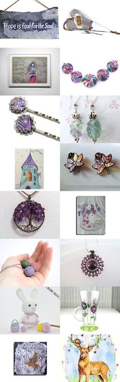 In the blink of lavender! by Natasha on Etsy--Pinned with TreasuryPin.com