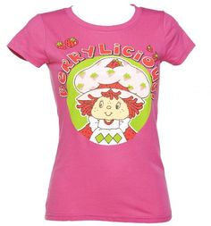 Ladies Strawberry Shortcake Berrylicious T-Shirt