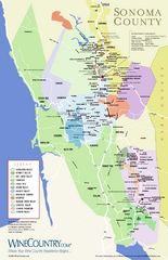 Sonoma Valley Winery Map - Sonoma Valley California • mappery