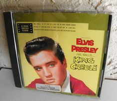 ELVIS PRESLEY CD KING CREOLE RCA 3733-2-R NM 1988 ORIGINAL SOUNDTRACK 11 TRACKS #SoundtrackFilmScoreSoundtrack