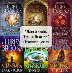 Terry Brooks is most famous for his very popular Shannara Series of fantasy fiction.  For those of you wanting to embark on the Shannara journey in chronological order, I have put together this gui...