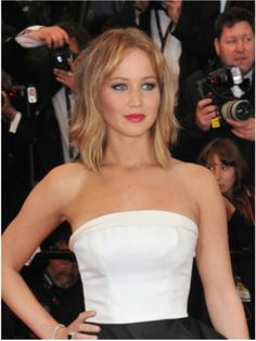 Jennifer Lawrence definite crush on this woman. Love her.