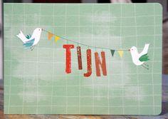 Birthcard, designed for Tijn!