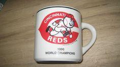 Cincinnati Reds 1990 champions, playoffs MLB baseball mug #CincinnatiReds