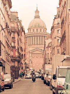 Road to The Pantheon (Paris)