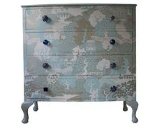 wallpapered furniture | Bryonie Porter Wallpapered Furniture | Incredible Things