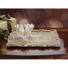 Milano Rectangular Serving Tray - Overstock™ Shopping - Great Deals on Serving Platters/Trays
