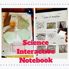 Students will have fun putting together this science interactive notebook. It has a large variety of science topics that are perfect for young students in Kindergarten and First Grade. You will love the simplicity of this notebook as there is not a lot of complex cutting or loose pieces that can get lost.