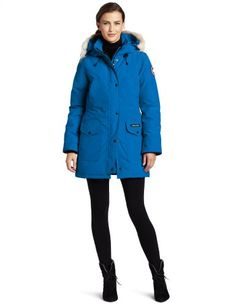 Canada Goose expedition parka online authentic - Canada Goose Women's Kensington Parka, Navy, XX-Small Canada Goose ...
