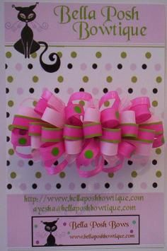 How do you make these? - Hip Girl Boutique Free Hair Bow Instructions--Learn how to make hairbows and hair clips, FREE!