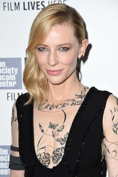 Cate Blanchett wearing Aouadi at 53rd New York Film Festival
