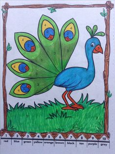 Basic Drawing For Kids, Easy Art For Kids, Easy Drawings For Kids, Art Lessons For Kids, Oil Pastel Drawings, Oil Pastel Art, Bird Drawings, Art Painting Gallery, Geometric Drawing