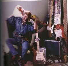 Stevie Ray Vaughan, Photoshooting 7th September 1985, Pittsburgh