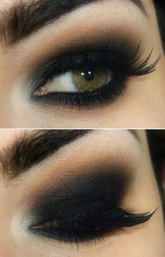 444c7e4f988f80 Black smokie makeup Coiffure Maquillage, Maquillage Arabe, Maquillage Yeux  Noir, Maquillage Soirée,