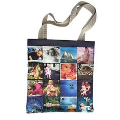 Coupon For Tote Bag now featured on Fab.  turn instagram pictures into a bag