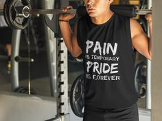 Discover The Perfect Gym ! T-Shirt only on Teespring - Free Returns and 100% Guarantee - Pain Is Temporary Pride Is Forever