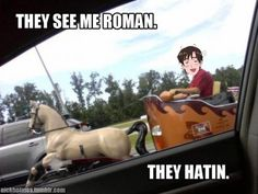 YES. YES THEY ARE. (Is there any room for me in that chariot?)