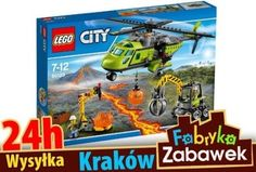 Sklep  LEGO CITY 60123 Helikopter Dostawczy KRAKÓW
