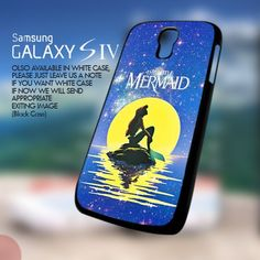 AJ 836 The Little Mermaid Disney Galaxy - Samsung Galaxy s4 | GoToArt - Accessories on ArtFire