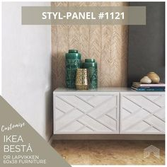 Stylkea is here to help Besta live up to its superlative name. Transform your IKEA Besta unit into a luxurious centrepiece. IKEA hackers live here! Furniture, Living Room Furniture, Ikea, Flat Pack Furniture, Furniture Overlays, Custom Cabinetry, Ikea Furniture, Paneling, Furniture Design
