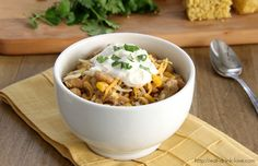 Flashback Friday: White Bean and Chicken Chili - Eat. Drink. Love.