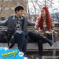 Win Hormones The Series, Drama Movies, Couple Goals, Dramas, Thailand, Punk, Couples, Boys, Style