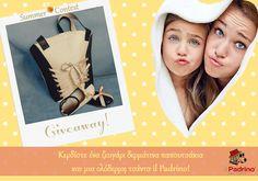 Διαγωνισμός με δώρο μια τσάντα και δερμάτινα παιδικά παπούτσια