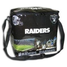 Oakland Raiders NFL Cityscape 12 Pack Soft Cooler