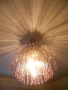 stunning retro glass chandelier | eBay Glass Chandelier, Home Goods, Decor Ideas, Ceiling Lights, Retro, Ebay, Home Decor, Decoration Home, Room Decor