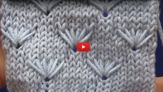 (notitle) Knitting Stiches, Easy Knitting Patterns, Kids And Parenting, Videos, Knit Crochet, Stitch, Blanket, Creative, Knitting Patterns