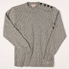 Armor Lux Sailor Sweater Heritage Khaki Mouline : SUNSETSTAR