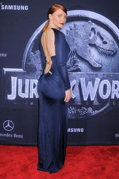 Brice Dallas Howard at the premiere of Jurassic World in Hollywood on June 10th. #TCLCelebrities #TCLChineseTheatre #RedCarpet