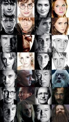 I am the BIGGEST HP nerd.  @Asha Dziewinski  The picture second from the right on the very top row kind of looks like you...  Crazy!