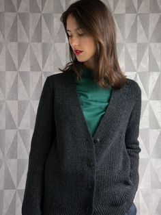 WOLFEN Germany. Lucy cardigan. Made in Germany.