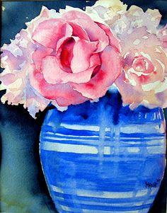 Blue Pottery by RedHead Art, via Flickr