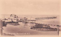 New Brighton, Christchurch Christchurch New Zealand, New Brighton, Genealogy, Paris Skyline, History, Random, Travel, Historia, Viajes