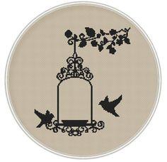Bird Cross stitch pattern cross stitch bird por MagicCrossStitch