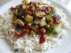 sk - recepty a videá o varení Risotto, Grains, Food And Drink, Yummy Food, Baking, Health, Ethnic Recipes, Fit, Cooking