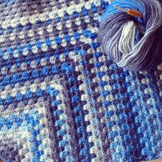 See my new granny afghan crochet blanket - and find the link to the tutorial so you can make one too