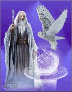 Uma Alma Mística de Ser...: Mago Merlin