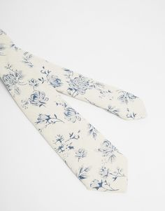 ASOS Tie With Floral Print